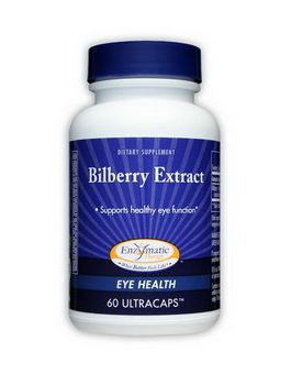 Hadley Wood Bilberry Extract 60 Capsules