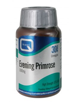 Quest Vitamins - Evening Primrose Oil 1000mg (180 Capsules)