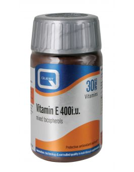 Quest Vitamins - Vitamin E 400i.u. (60 Capsules)