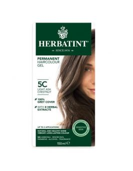 Herbatint Permanent Hair Colour 5C Light Ash Chestnut