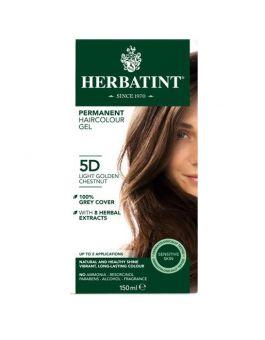 Herbatint Permanent Hair Colour 5D Light Golden Chestnut