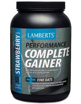 Lamberts Complete Gainer Strawberry ( 1816 g ) powder # 7005