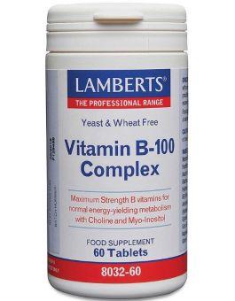 Lamberts Vitamin B-100 Complex ( 60 Tablets) # 8032