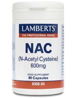 Lamberts N-Acetyl Cysteine (Nac) 600mg90 Caps #8308