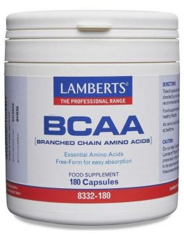 Lamberts BCCA (Branch Chained Amino Acids) 180 Caps # 8332