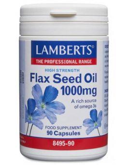 Lamberts Flax Seed Oil 1000mg (90 Capsules) # 8495