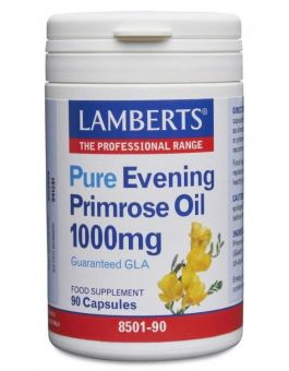 Lamberts Evening Primrose Oil 1000mg (90 Caps) # 8501