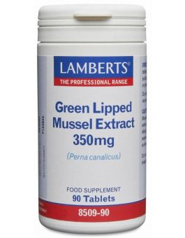 Lamberts Green Lipped Mussel Extract 350mg (90 Tablets) # 8509