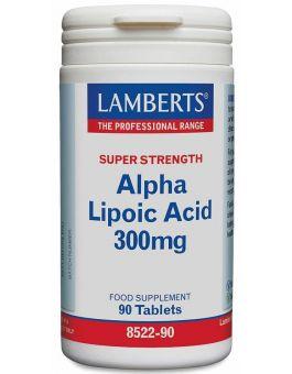 Lamberts Alpha Lipoic Acid 300mg (90 Tablets) # 8522