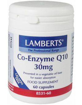 Lamberts Co-Enzyme Q10 30mg ( 60 Caps) # 8531