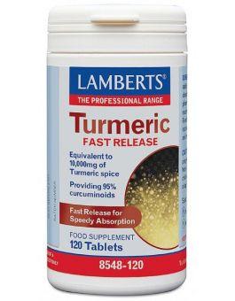 Lamberts Turmeric Fast Release 120 Tabs #8548