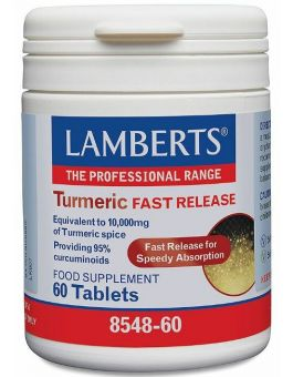 Lamberts Turmeric Fast Release 60 Tabs #8548
