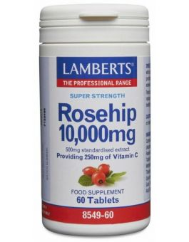 Lamberts Rosehip 10,000mg60 Tabs #8549