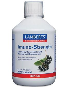 Lamberts Imuno-Strength Liquid (Rosehip and Blackcurrant Concentrates) 500ml # 8601