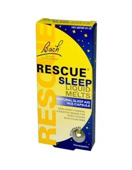Bach Remedies Rescue Night Liquid Melts 28 Capsules