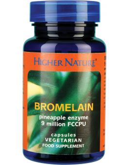 Higher Nature Bromelain # BRO030