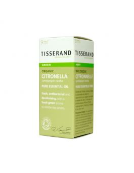 Tisserand Citronella-Organic (Grass) Pure Essential Oil