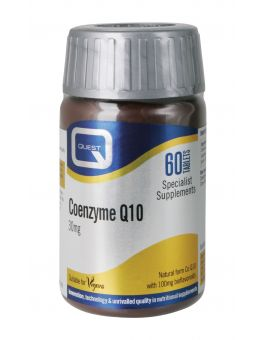 Quest Vitamins - Coenzyme Q10 30mg Vegan (30 Capsules)