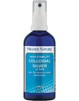 Higher Nature Colloidal Silver High Stability # SIL100