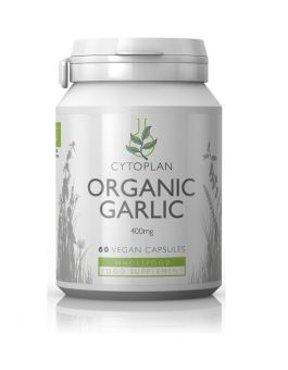 Cytoplan Organic Garlic 400 mg # 4156