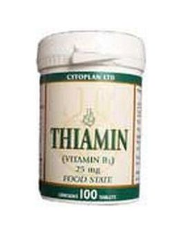 Cytoplan Thiamin (Vitamin B1) 25mg # 4012