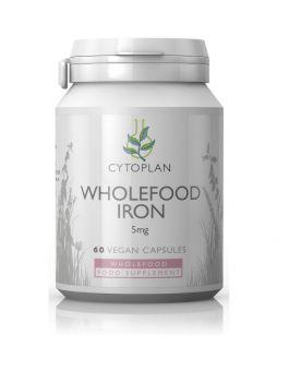 Cytoplan Wholefood Iron 5 mg Elemental # 3312