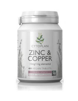 Cytoplan Zinc/Copper 15mg # 4081
