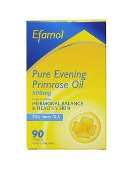EFAMOL WOMEN HIGH STRENGTH PURE EVENING PRIMROSE OIL- EPO 500mg (90 Caps)