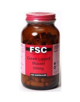 FSC Green Lipped Mussle 500mg