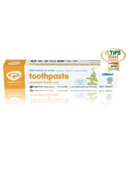 Green People Company Organic Children Mandarin Toothpaste # 057455