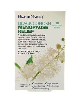 Higher Nature Black Cohosh - Menopause Relief # HEBM030