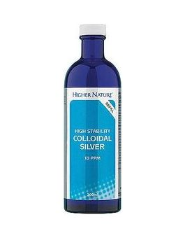 Higher Nature Colloidal Silver High Stability # SIL200