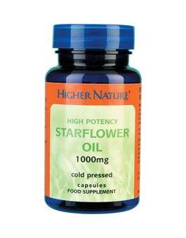 Higher Nature Starflower Oil 1000mg # STI030