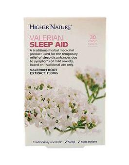 Higher Nature Valerian Sleep Aid - Used To Relieve Sleep Disturbances & Mild Anxiety # HEVS030