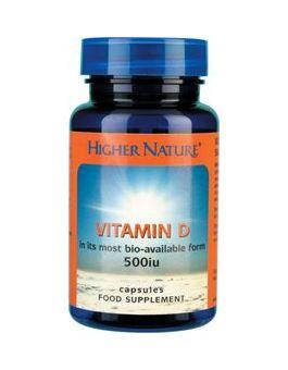 Higher Nature Vitamin D 500iu # DV5120