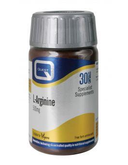Quest Vitamins - L-Arginine 500mg