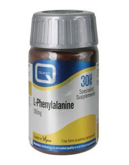 Quest Vitamins - L-Phenylalanine 500mg (30 Capsules)