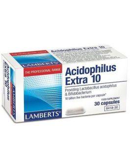 Lamberts Acidophilus Extra 10 ( 30 Caps ) # 8418