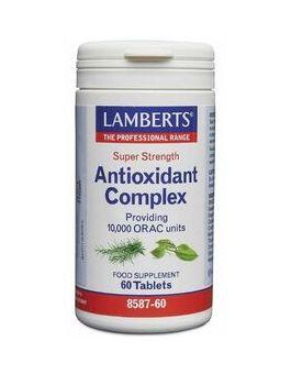 Lamberts Antioxidant Complex Super Strength, Providing 10,000 Orac Units 60 Tabs #8587