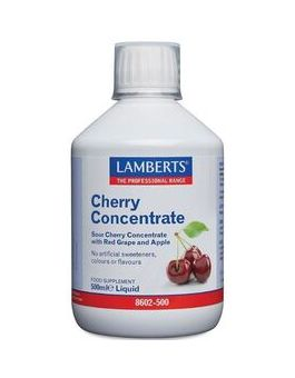 Lamberts Cherry Concentrate Liquid (500ml) # 8602