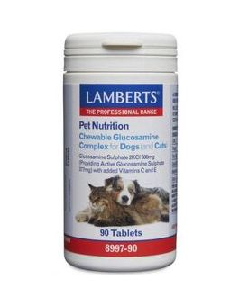 Lamberts Chewable Glucosamine Complex For Dogs (And Cats) 90 Tabs #8997