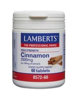 Lamberts Cinnamon 2500mg ( 60 Tablets) # 8572