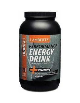 Lamberts Energy Drink Refreshing Orange flavor ( 1000 g ) powder # 7010