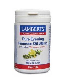Lamberts Evening Primrose Oil 500mg (180 Caps) # 8507