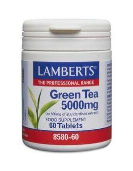 Lamberts Green Tea 5000mg (60 Tablets) # 8580