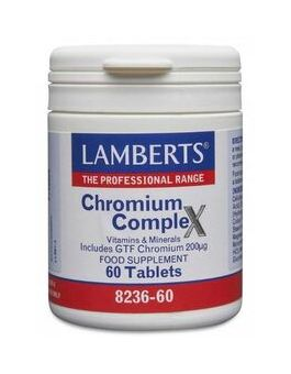 Lamberts GTF Chromium 200mg ( 60 tablets) #8236