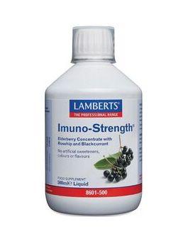 Lamberts Imuno-Strength Liquid (Rosehip and Blackcurrant Concentrates) 500ml # 8601