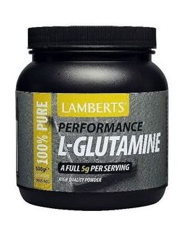 Lamberts L-Glutamine Powder (500 g ) # 7013