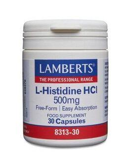 Lamberts L-Histidine HCI 500mg (30 Capsules) # 8313