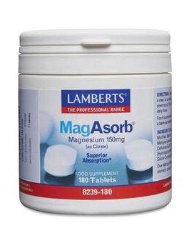 Lamberts MagAsorb (180 tablets) # 8239